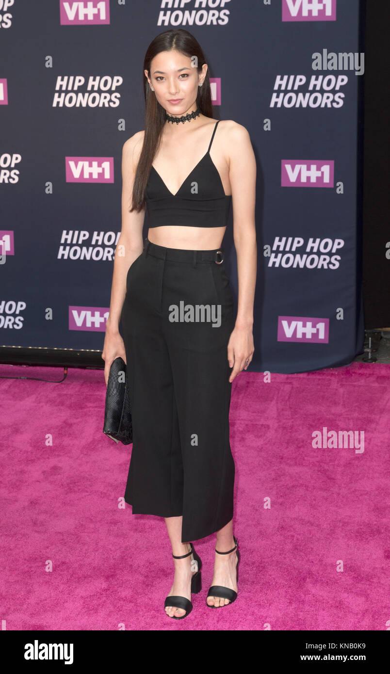 New York, NY - 11. Juli 2016: Tiana Tolstoi besucht 2016 VH1 Hip Hop Honors: All hail The Queens am Lincoln Center Stockbild