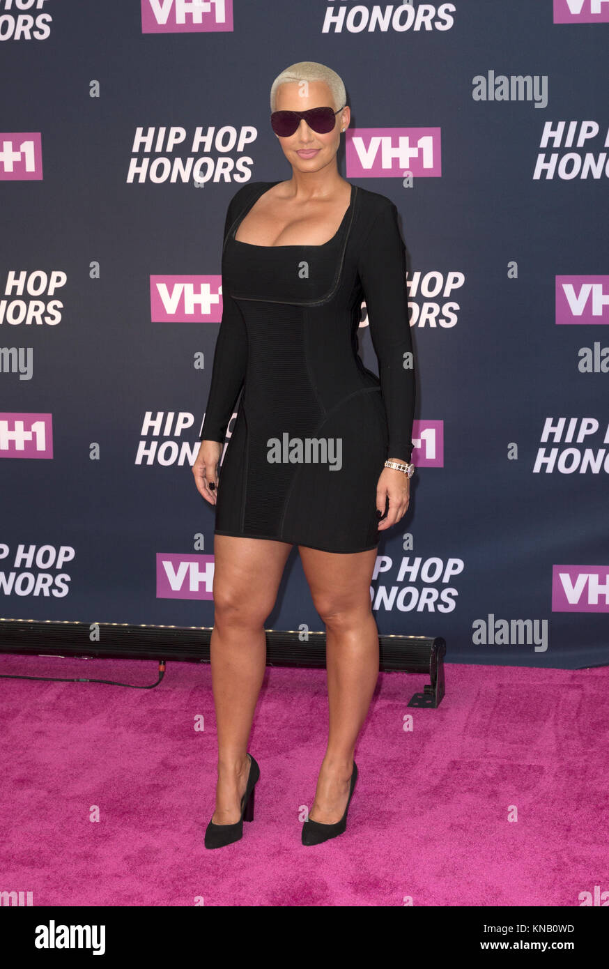 New York, NY - 11. Juli 2016: Amber Rose besucht 2016 VH1 Hip Hop Honors: All hail The Queens am Lincoln Center Stockbild