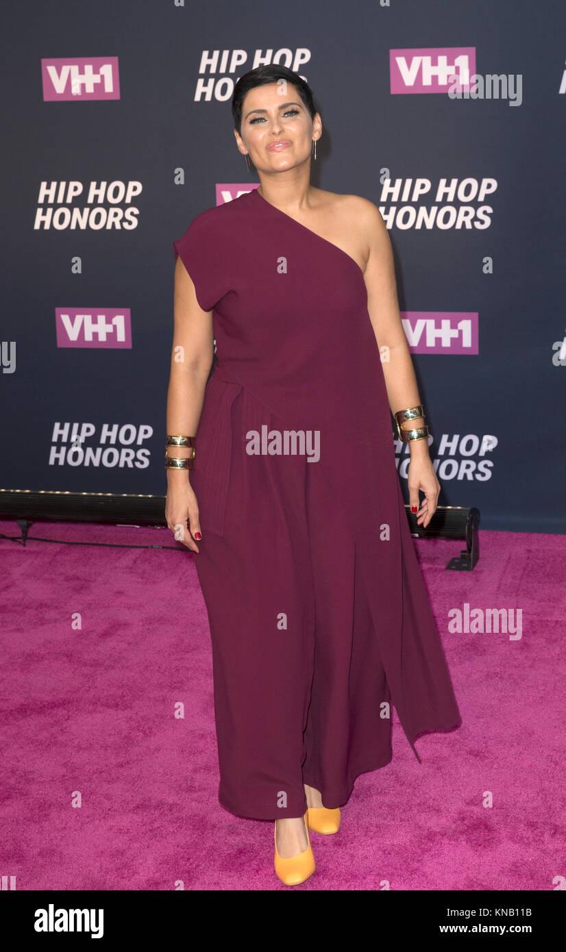 New York, NY - 11. Juli 2016: Nelly Furtado besucht 2016 VH1 Hip Hop Honors: All hail The Queens am Lincoln Center Stockbild