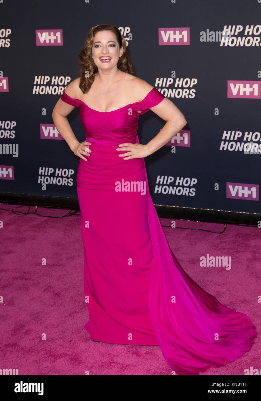 New York, NY - 11. Juli 2016: Laura Michelle Kelly besucht 2016 VH1 Hip Hop Honors: All hail The Queens am Lincoln Stockbild