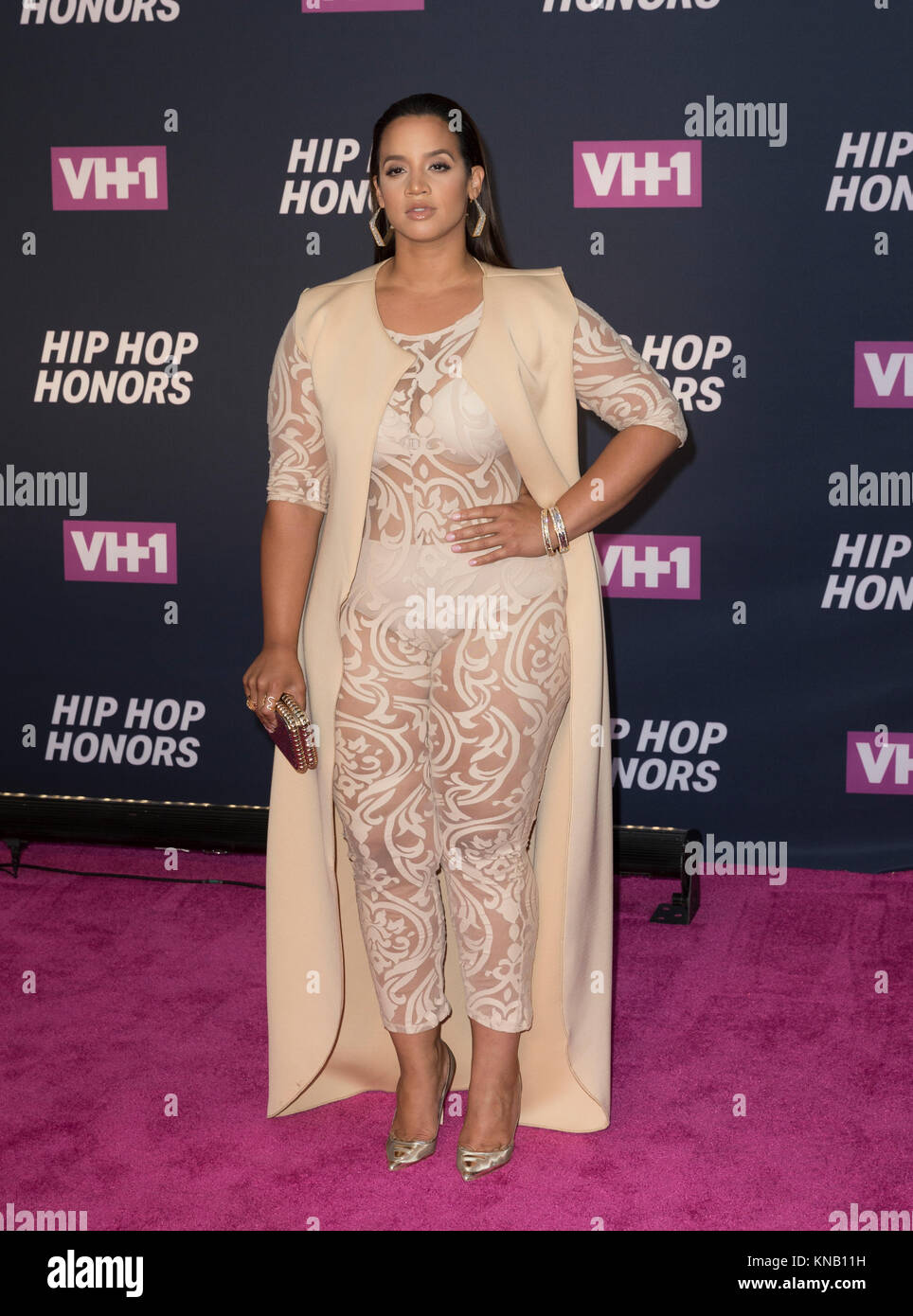 New York, NY - 11. Juli 2016: Dascha Polanco besucht 2016 VH1 Hip Hop Honors: All hail The Queens am Lincoln Center Stockbild