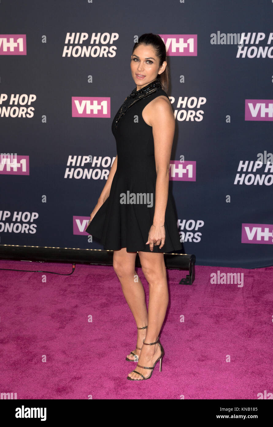 New York, NY - 11. Juli 2016: Lela Loren nimmt 2016 VH1 Hip Hop Honors: All hail The Queens am Lincoln Center Stockbild