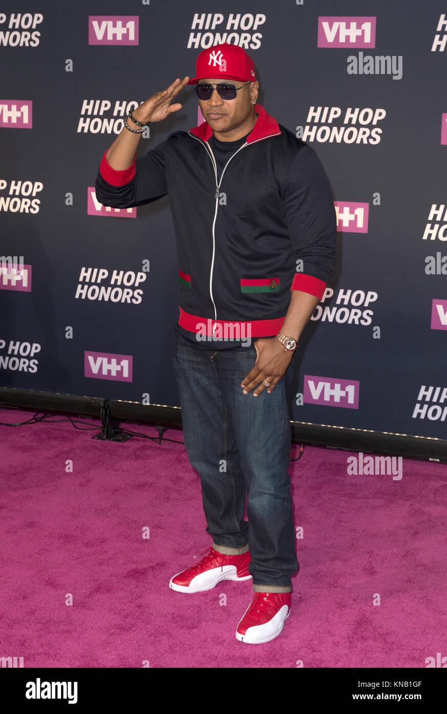 New York, NY - 11. Juli 2016: LL Cool J besucht 2016 VH1 Hip Hop Honors: All hail The Queens am Lincoln Center Stockbild