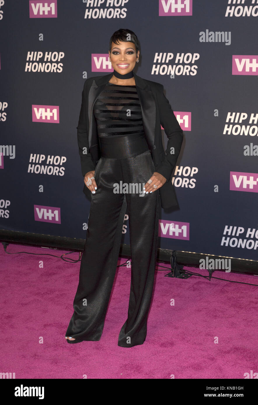 New York, NY - 11. Juli 2016: Monica besucht 2016 VH1 Hip Hop Honors: All hail The Queens am Lincoln Center Stockbild