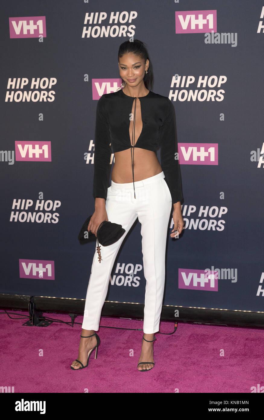 New York, NY - 11. Juli 2016: Chanel Iman besucht 2016 VH1 Hip Hop Honors: All hail The Queens am Lincoln Center Stockbild