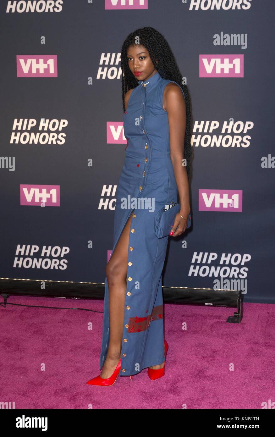 New York, NY - 11. Juli 2016: Kyemah McEntire besucht 2016 VH1 Hip Hop Honors: All hail The Queens am Lincoln Center Stockbild