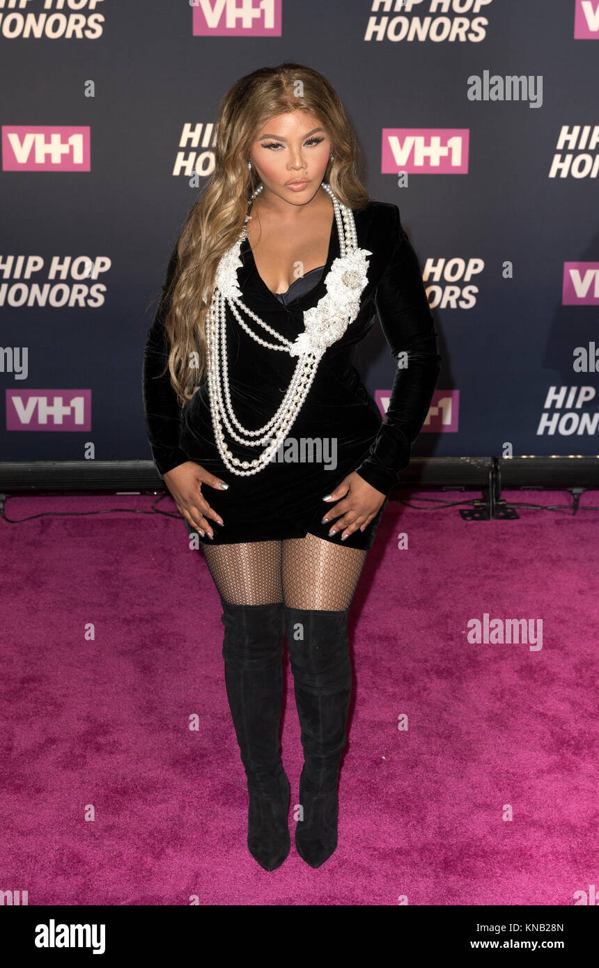 New York, NY - 11. Juli 2016: Lil Kim besucht 2016 VH1 Hip Hop Honors: All hail The Queens am Lincoln Center Stockbild