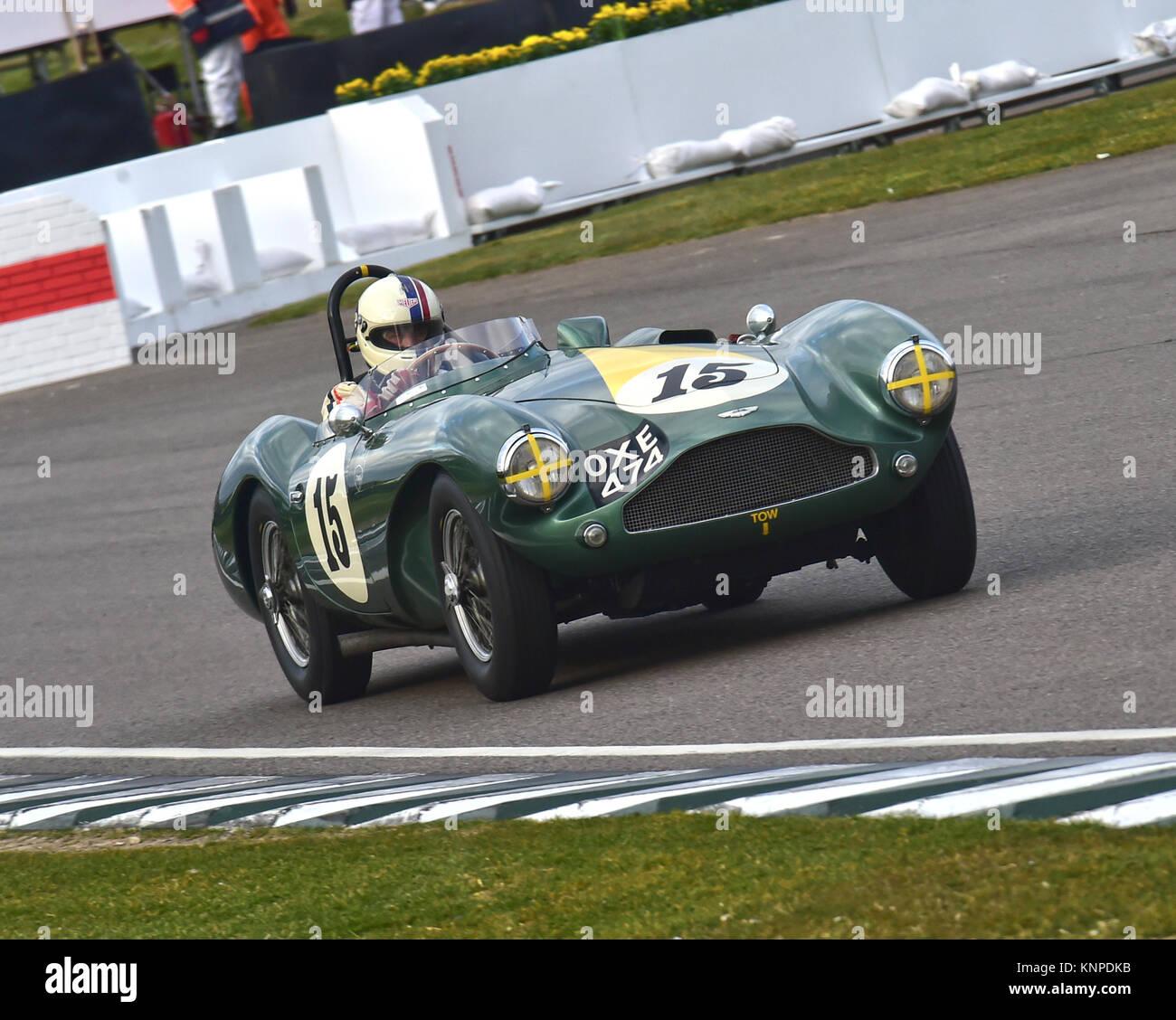 Steve Boultbee-Brooks, Aston Martin DB 3 S, OXE 474, Peter Collins Trophäe, Sports Racing Cars, Goodwood 74th Stockbild