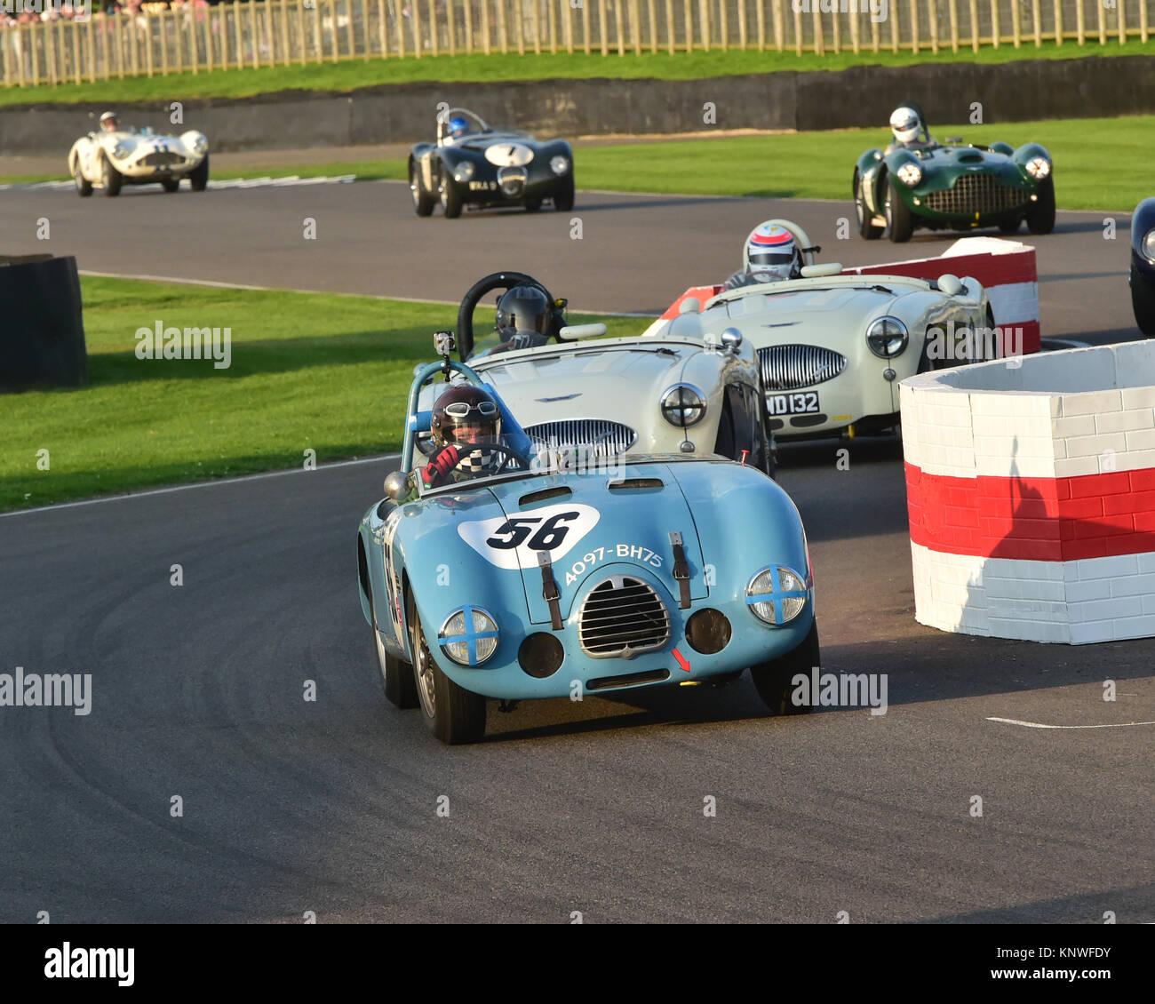 Eddie McGuire, Gordini Typ 23 S, 4097-BH 75, Freddie März Memorial Trophy, Goodwood Revival 2014, Goodwood Stockbild