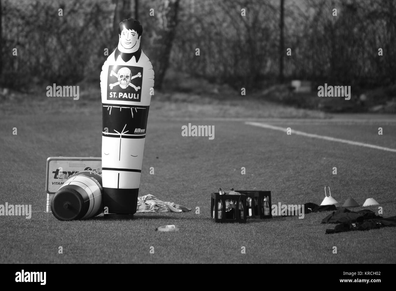Training FC St. Pauli, Niendorf, Hamburg, Deutschland Stockbild