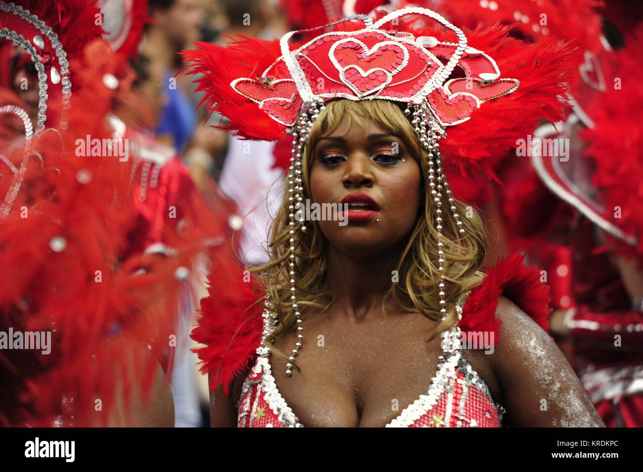 Sommerkarneval in Rotterdam, Holland Stockbild