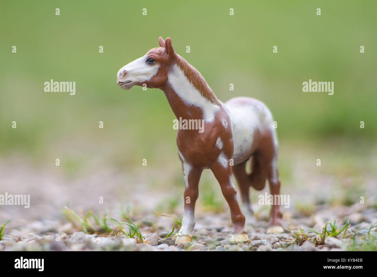 kinderspielzeug, schleich modell pferde stockfoto, bild: 171734035