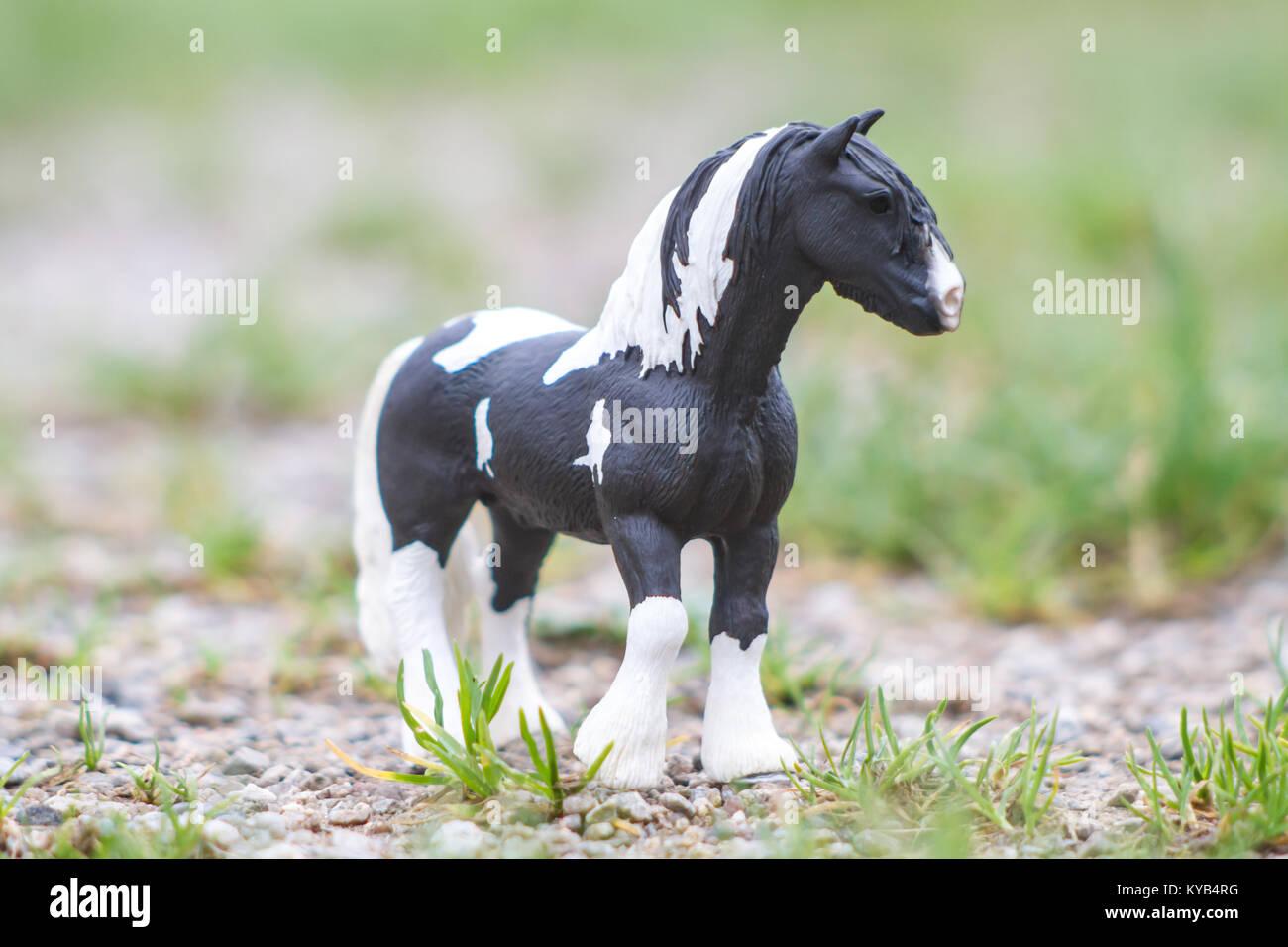 kinderspielzeug, schleich modell pferde stockfoto, bild: 171734292