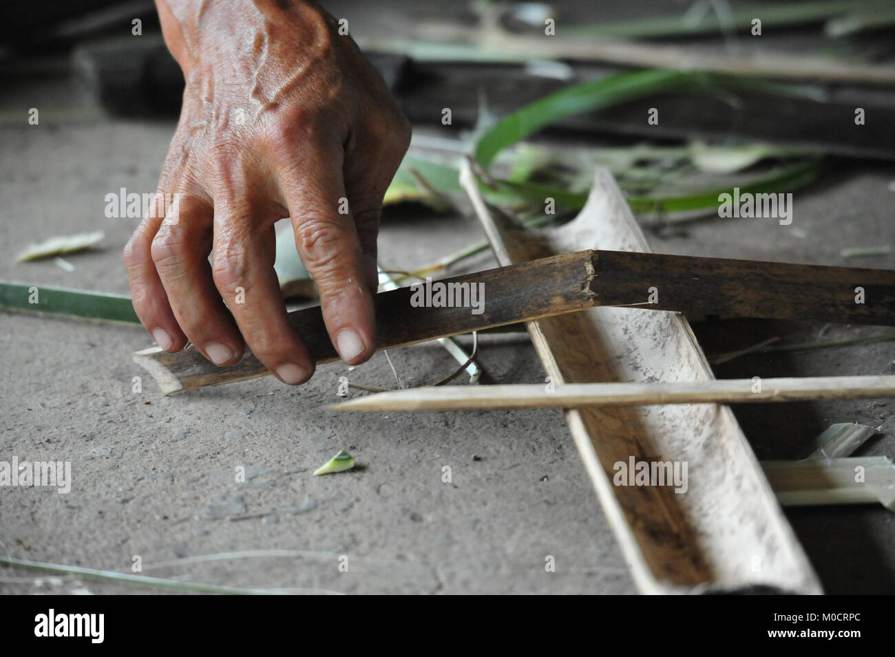 JEST Survival Camp, Luzon, Philppines Stockbild