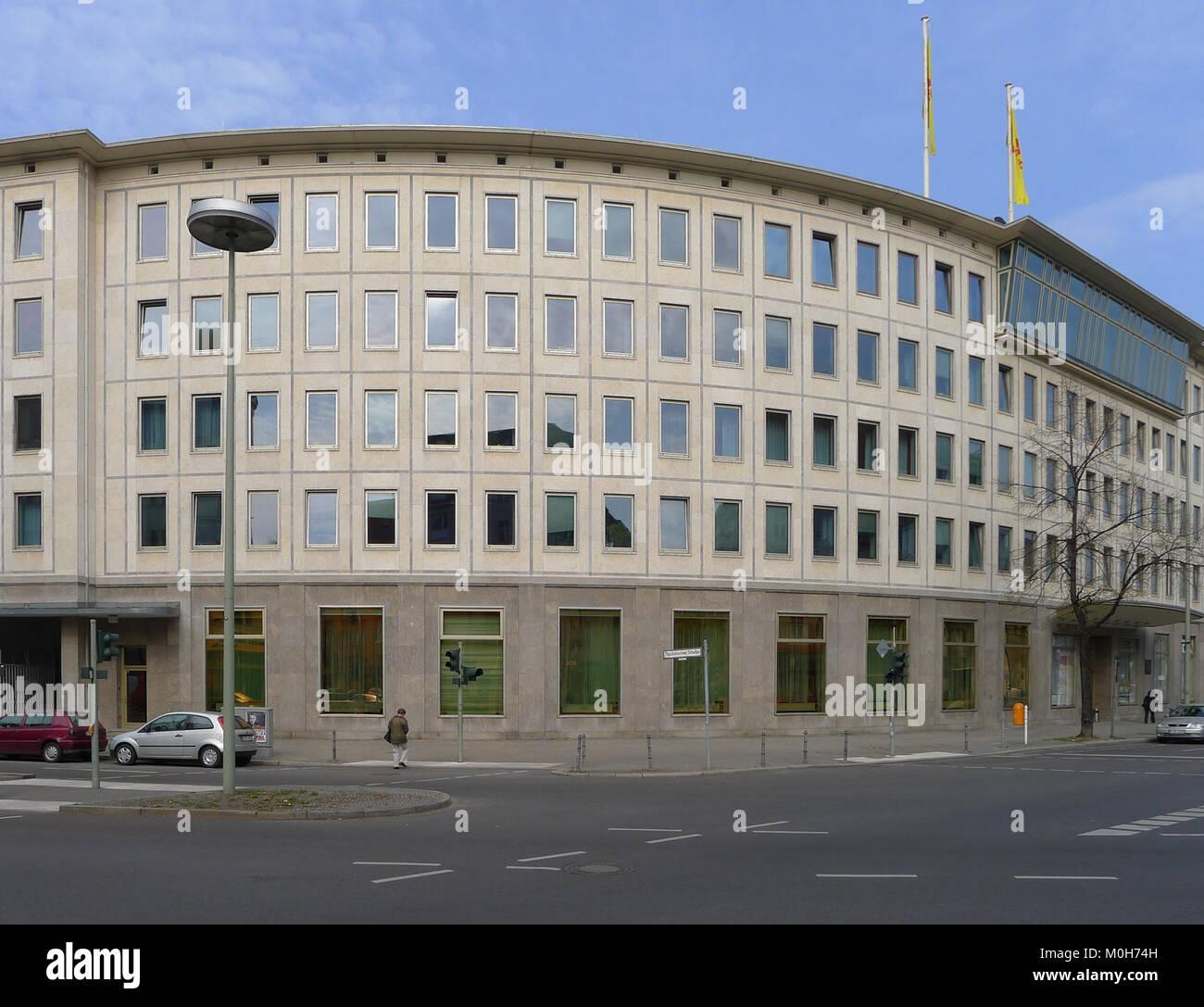 Brandenburgische Straße 36 Berlin-Wilmersdorf Stockbild