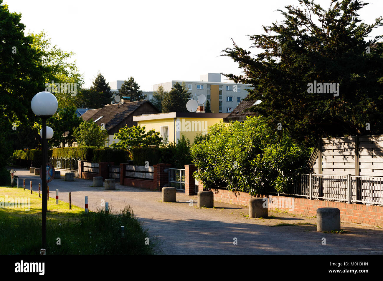 Buckower Chaussee, Fußweg 20140520 15. Stockbild