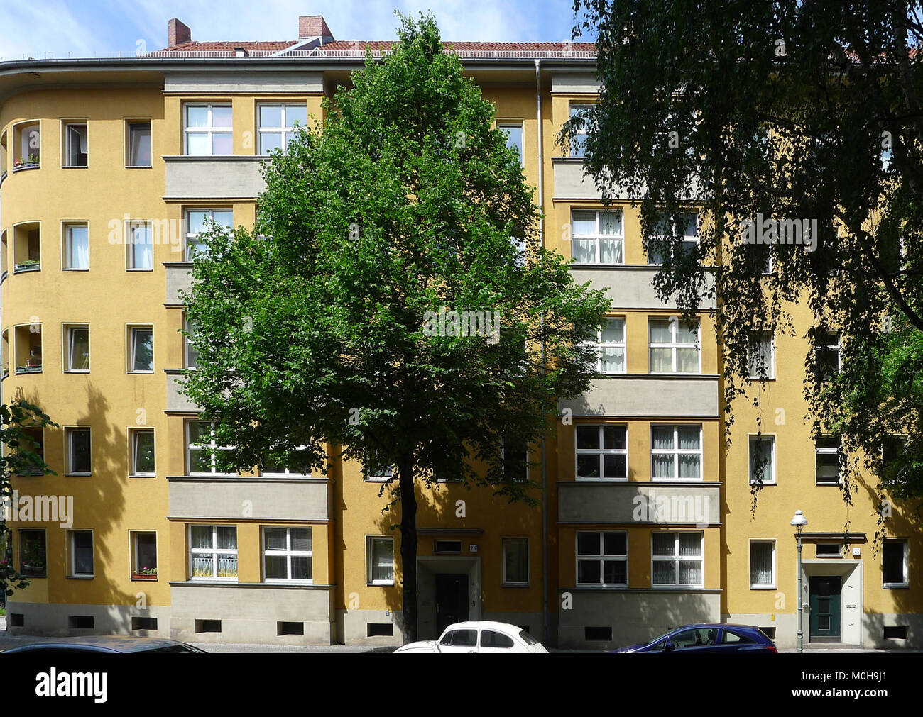 Brahestraße 10-12 A (Berlin-Charlottenburg) Stockbild