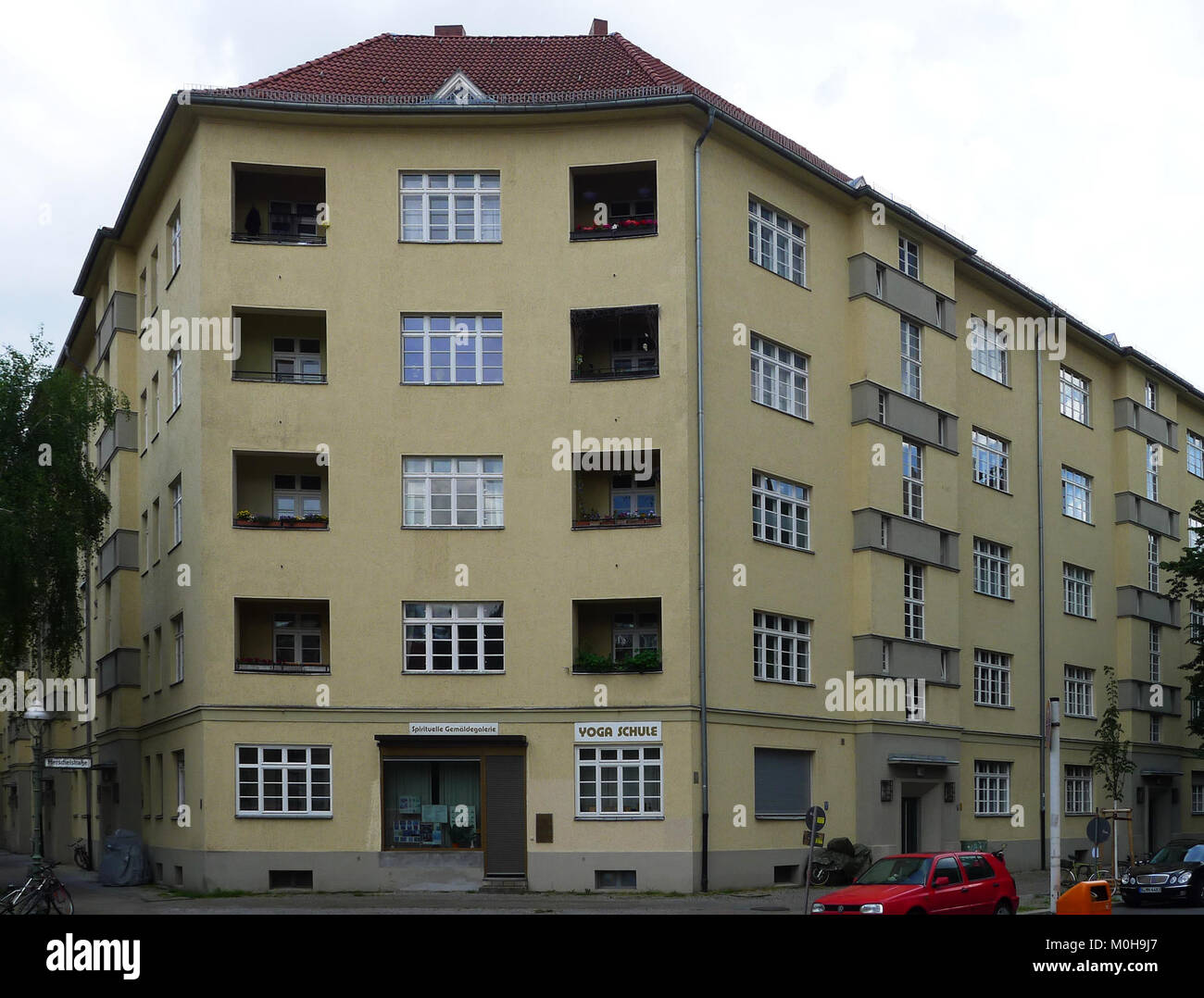 Brahestraße 28-31 (Berlin-Charlottenburg) Stockbild