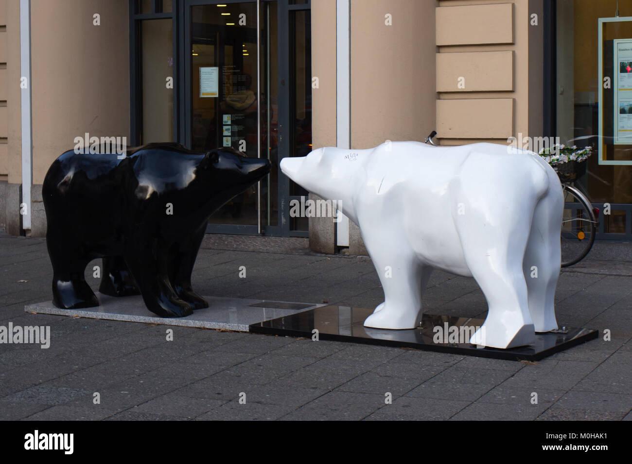 Buddybären am Olivaer Platz 20141110 19. Stockbild