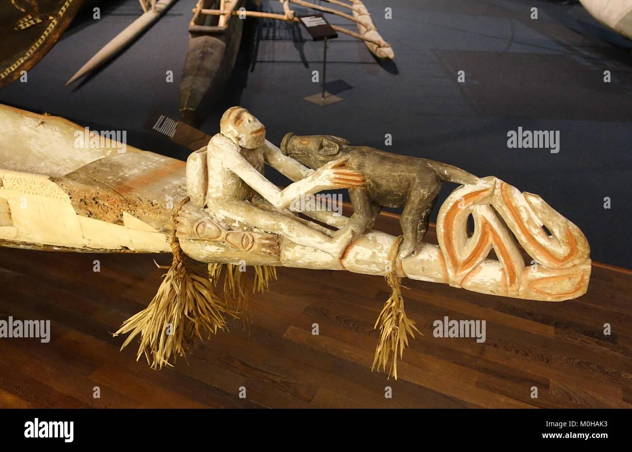 Kanu Bug, südseeabteilung-Ethnologischen Museum, Berlin - DSC 00915 Stockbild