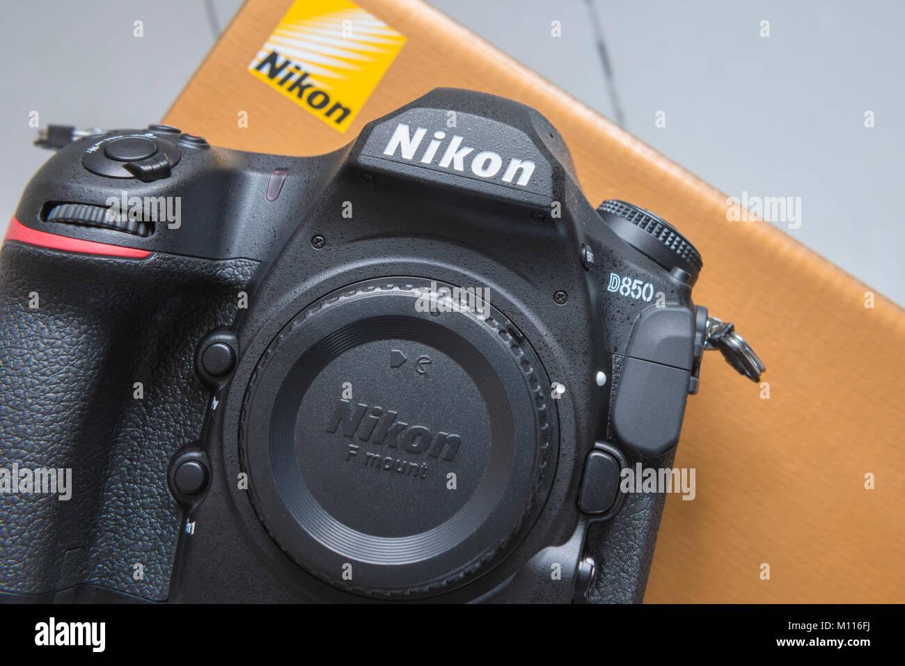 Die Nikon D850 Stockfoto, Bild: 172745430 - Alamy