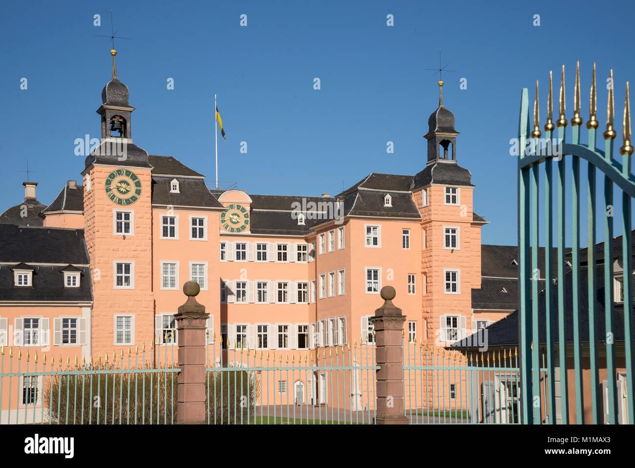 Schloss Schwetzingen, Schwetzingen - Palast, Schwetzingen, Baden-Württemberg, Deutschland, Europa Stockbild