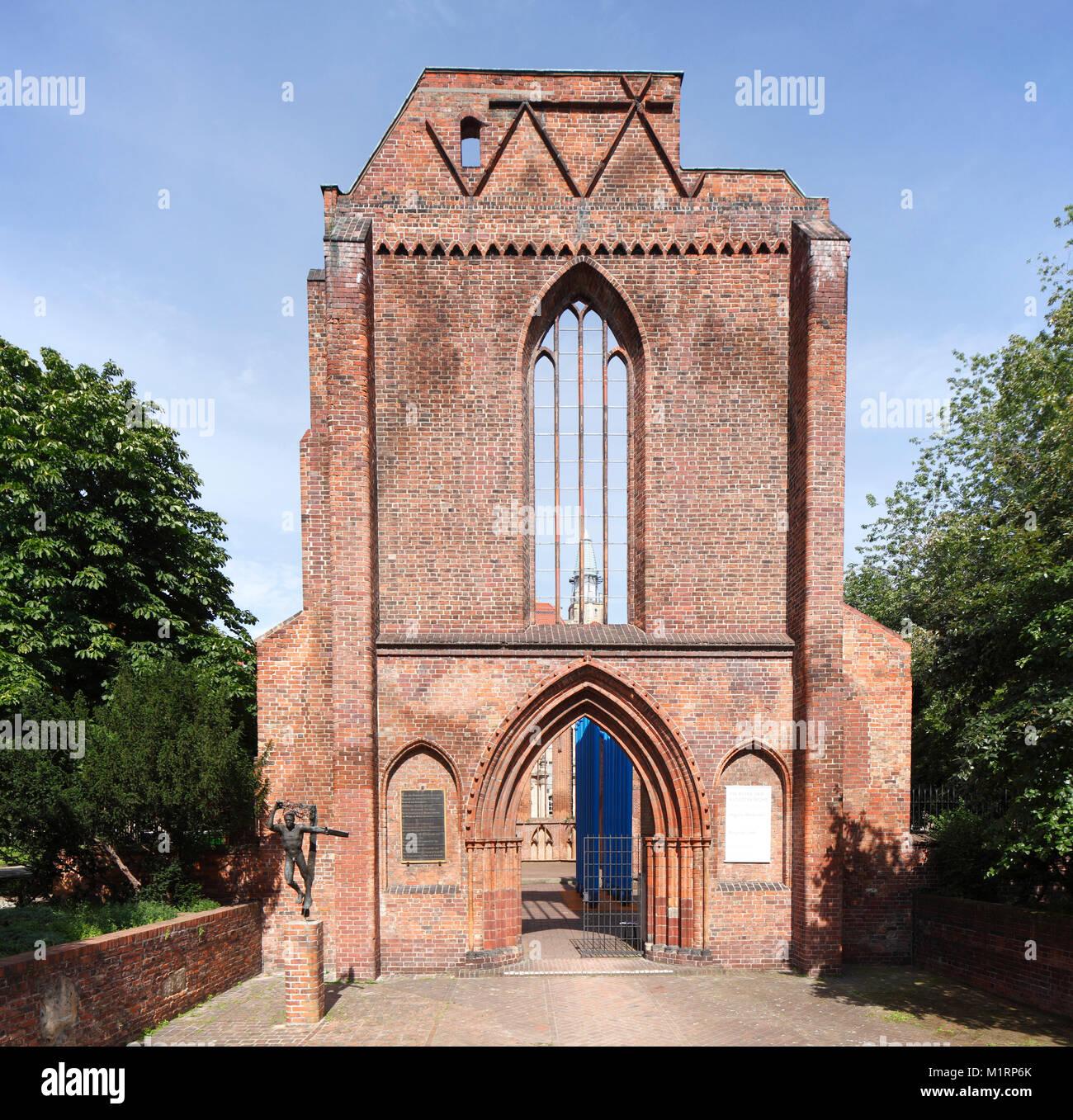 Franziskaner Klosterkirche, Klosterruine Berlin-Mitte, Berlin, Deutschland, Europa Stockbild