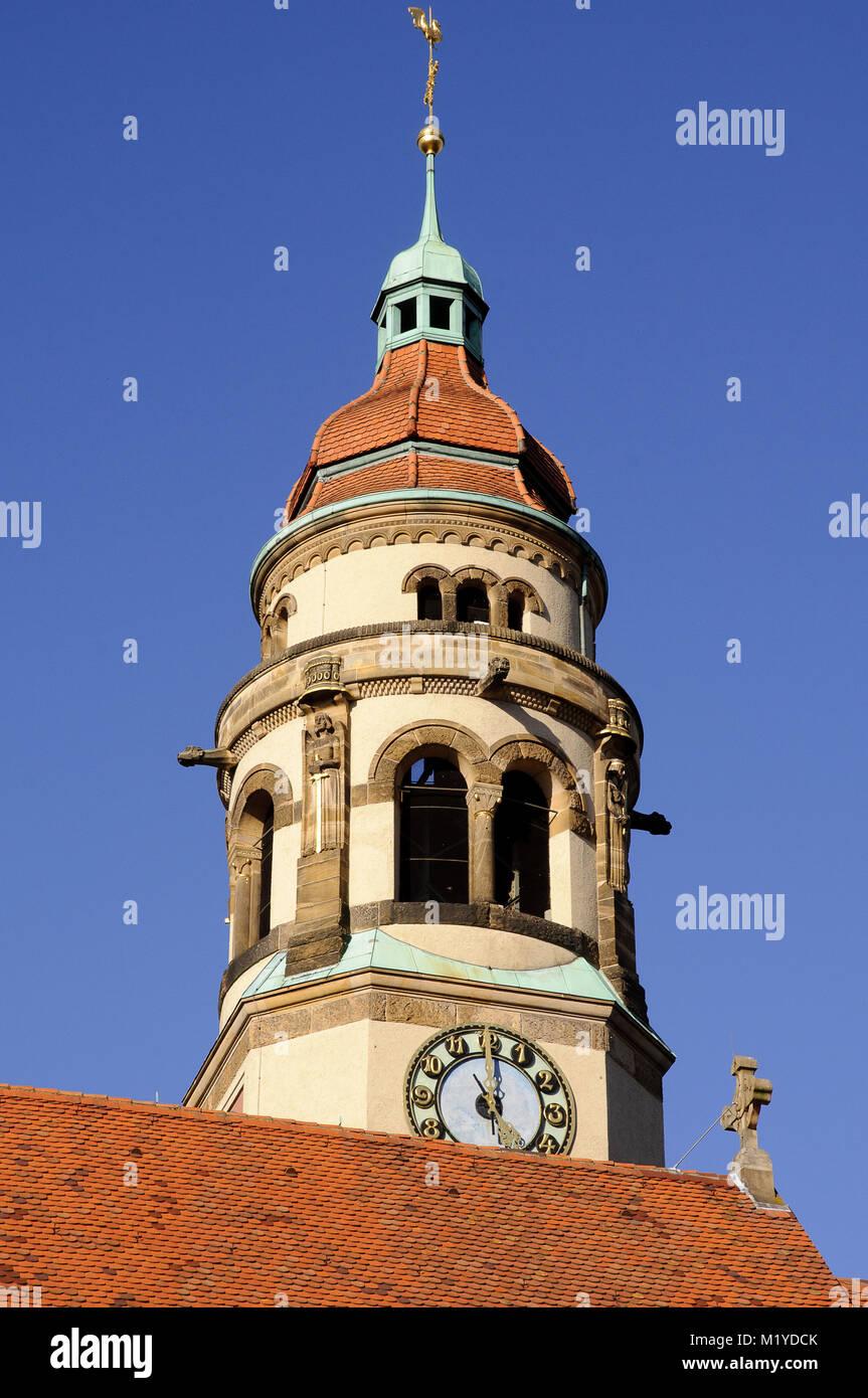 Markuskirche, Stuttgart, Baden-Württemberg, Deutschland, Deutschland, Europa Stockbild