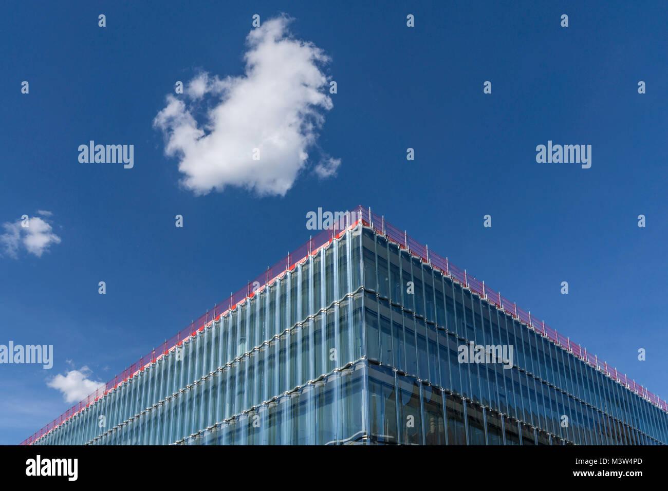 Neues Gebaeude Swiss Re, Swiss Re, Zürich, Schweiz   Neue Swiss Re Gebäude, Swiss Re, von Diener & Stockbild