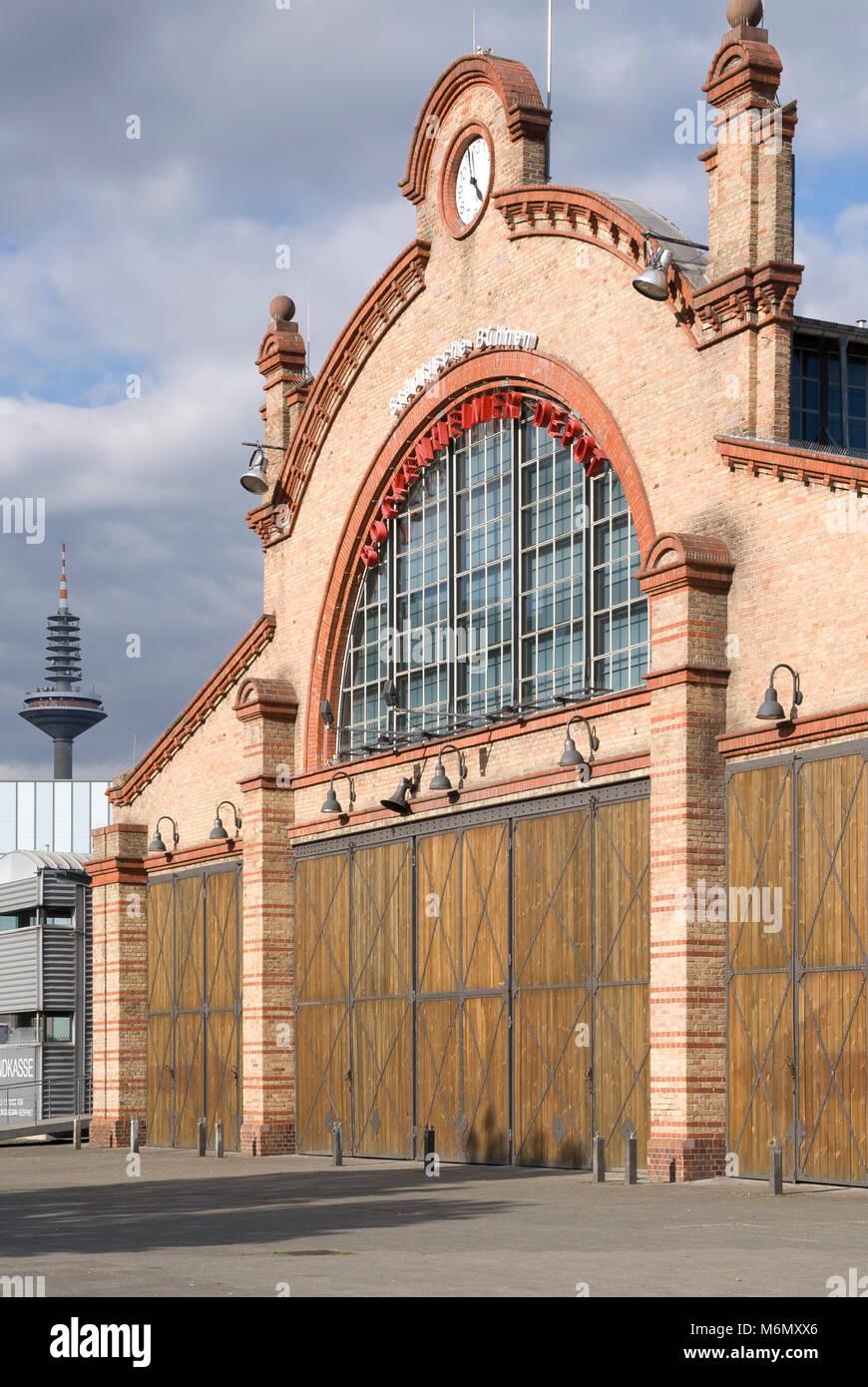 Backstein stockfotos backstein bilder alamy for Depot frankfurt am main