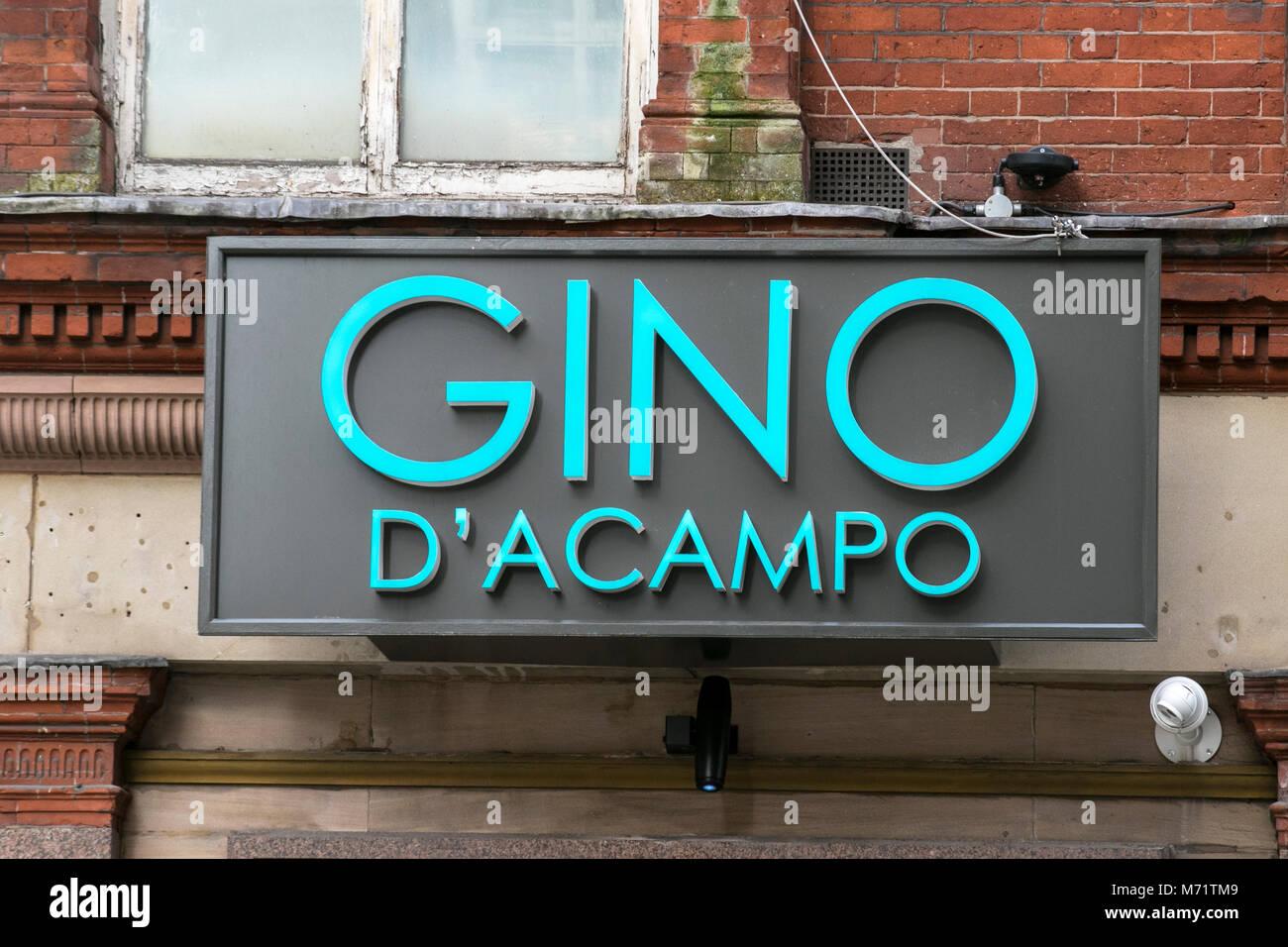 Gino D'acampo Starkoch restaurateur Restaurant kette Essen essen Essen essen tv-Moderatorin City Cafe essen Stockbild