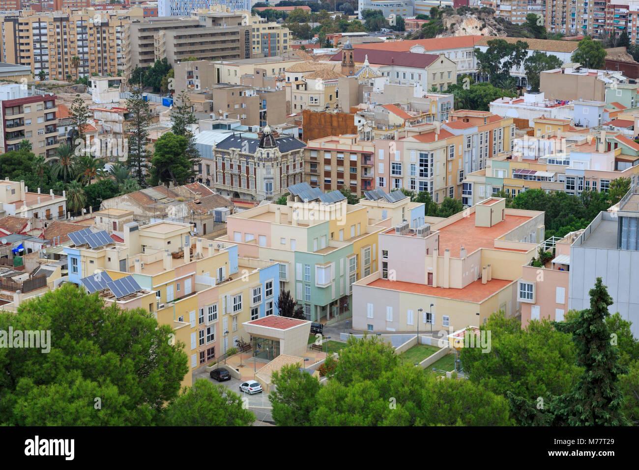 Cartagena, Murcia, Spanien, Europa Stockbild