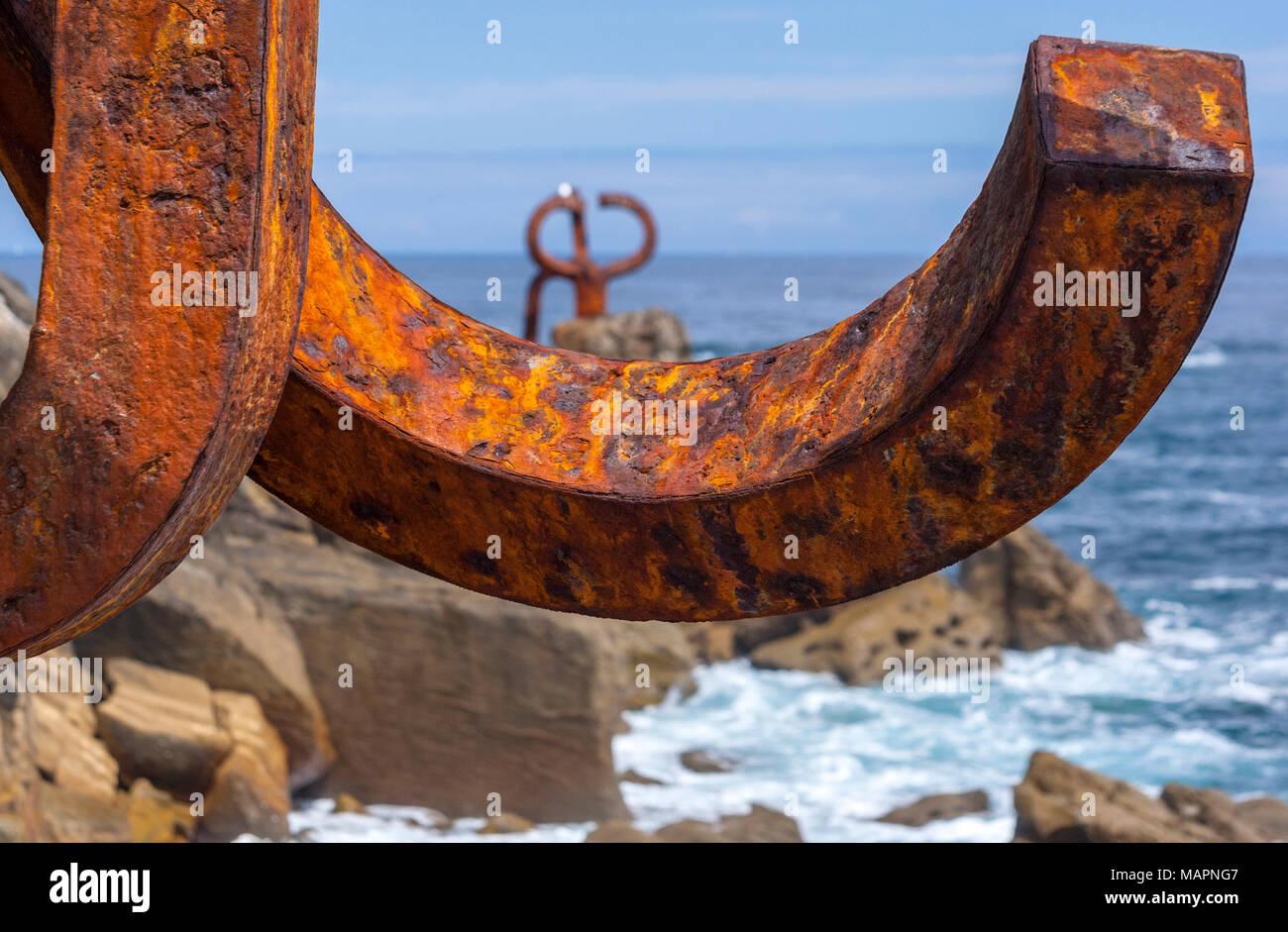 Rusted iron stockfotos rusted iron bilder alamy for Gartendeko rostigem eisen