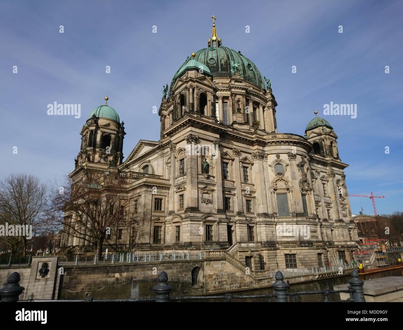 Dom in Berlin - Museumsinsel Stockbild