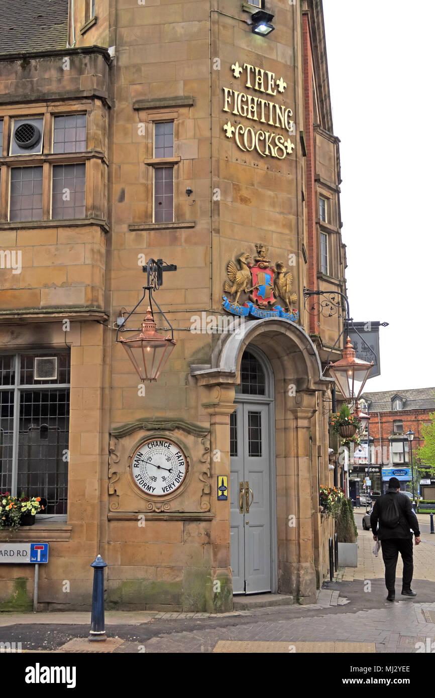 Laden Sie dieses Alamy Stockfoto Kämpfende Hähne Pub, Moseley, Birmingham, B13 8HW, Großbritannien - MJ2YEE