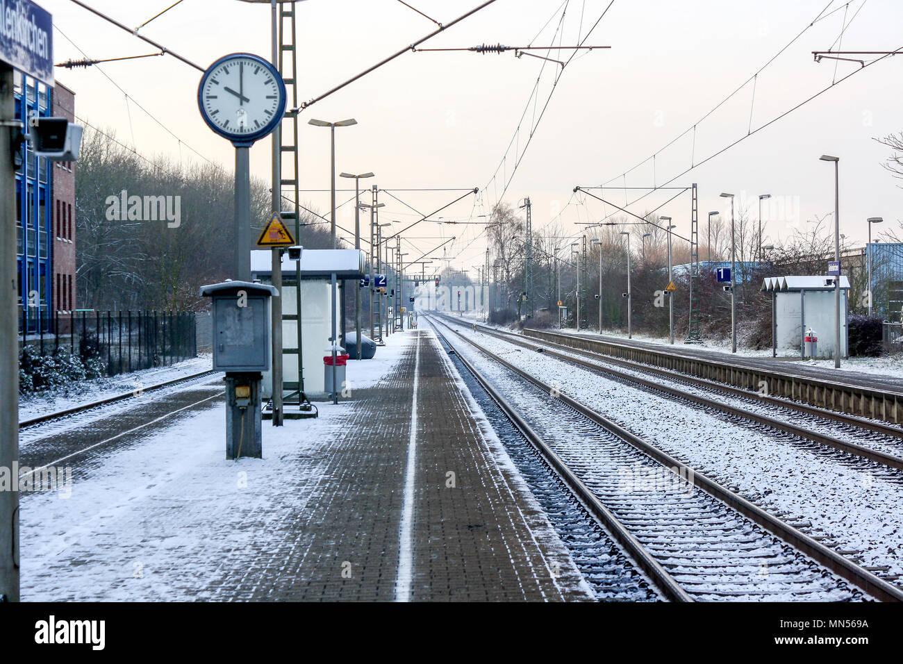 Die Deutsche Bahn Stockbild