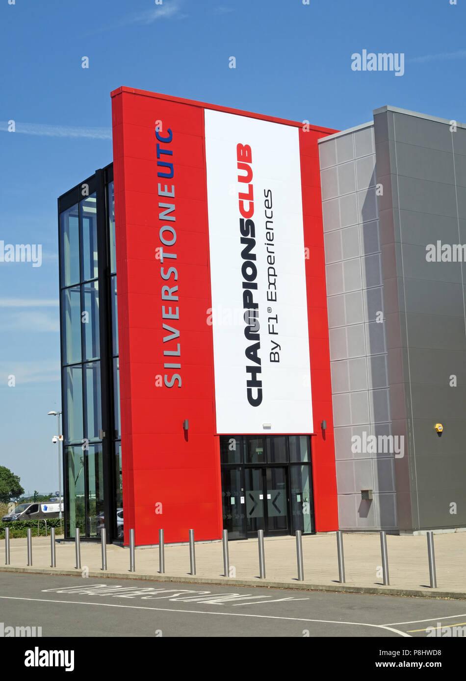 Dieses Stockfoto: Silverstone UTC ChampionsClub, F1 Erfahrungen Technology Center, Silverstone Circuit, Silverstone, Towcester, Northamptonshire, UK, NN12 8TL - P8HWD8