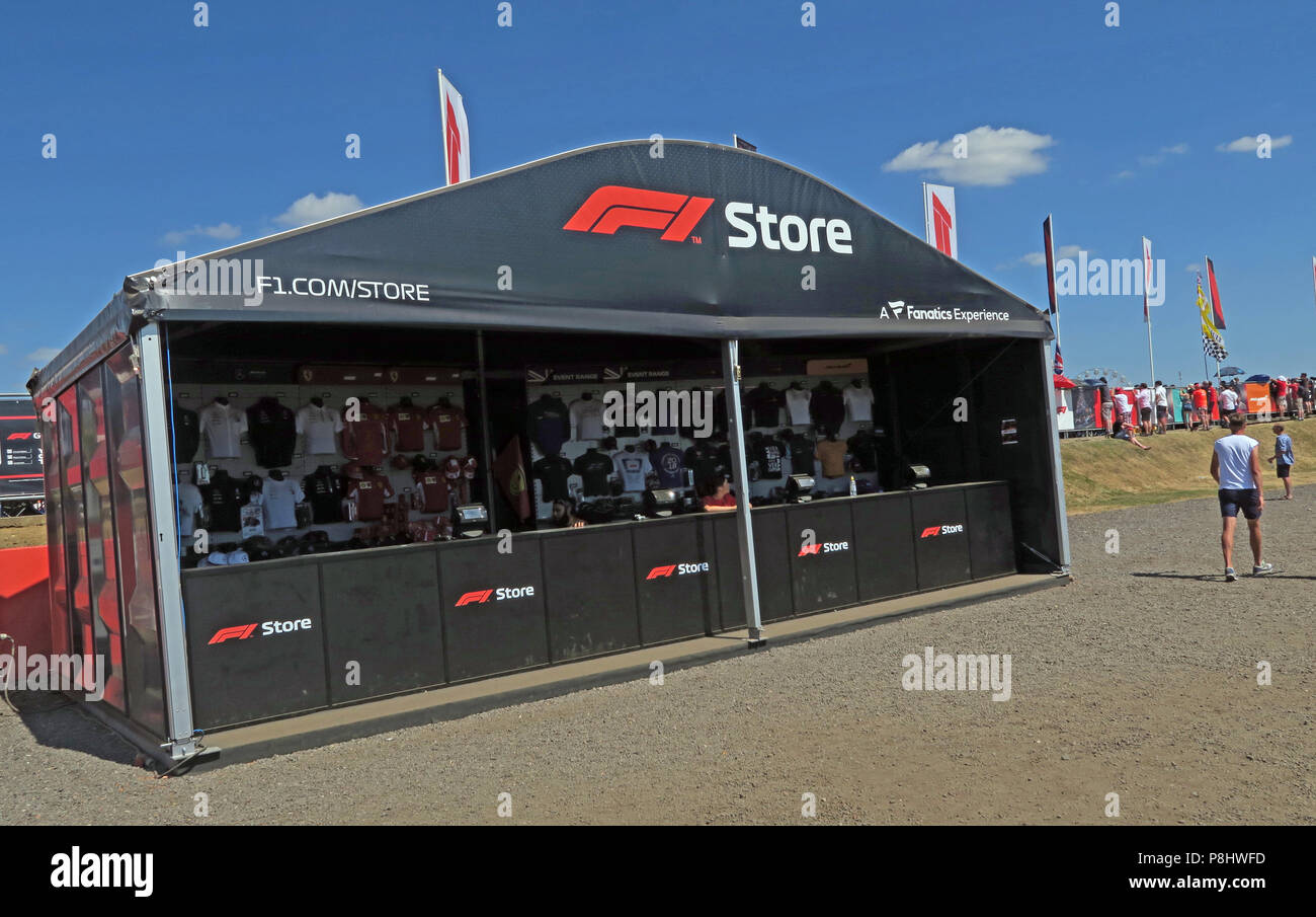 Dieses Stockfoto: F1, Formel 1, Grand Prix, Silverstone, Towcester, England, UK, NN12 8TL - P8HWFD
