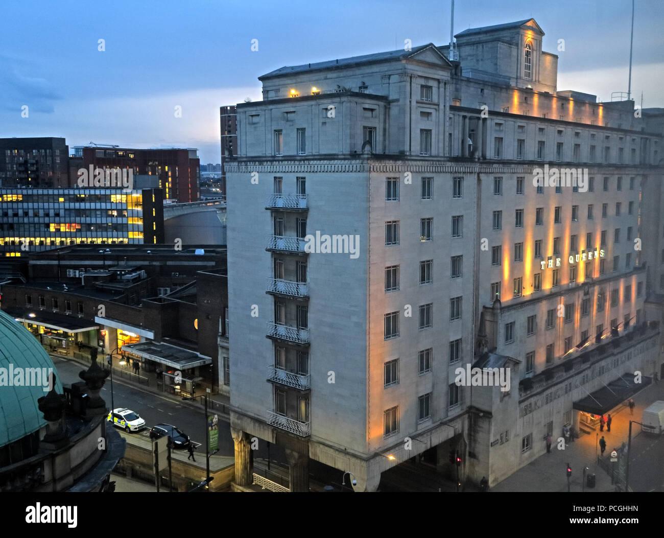 Laden Sie dieses Alamy Stockfoto Zentrum der Stadt Leeds, West Yorkshire, England, LS1, UK - PCGHHN