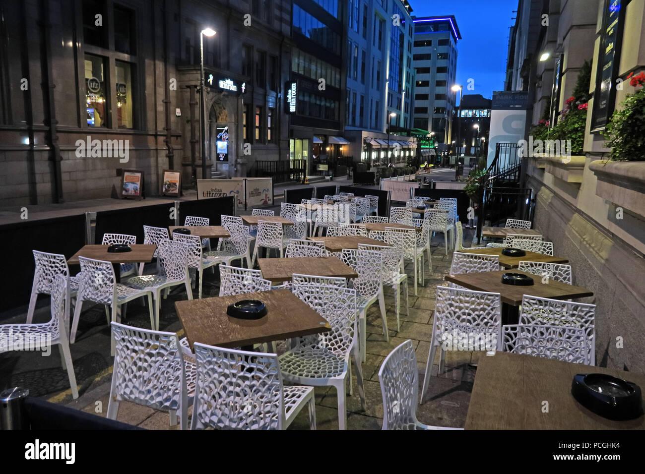 Laden Sie dieses Alamy Stockfoto Zentrum der Stadt Leeds, West Yorkshire, England, LS1, UK - PCGHK4