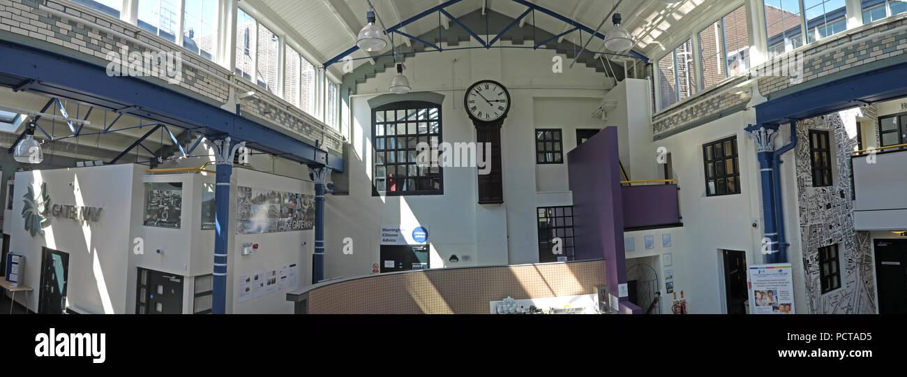 Laden Sie dieses Alamy Stockfoto Panorama der Gateway Community Resource Centre, Nächstenliebe Ressourcen, 89 Sankey Straße, Warrington, Cheshire, North West England, Großbritannien - PCTAD5