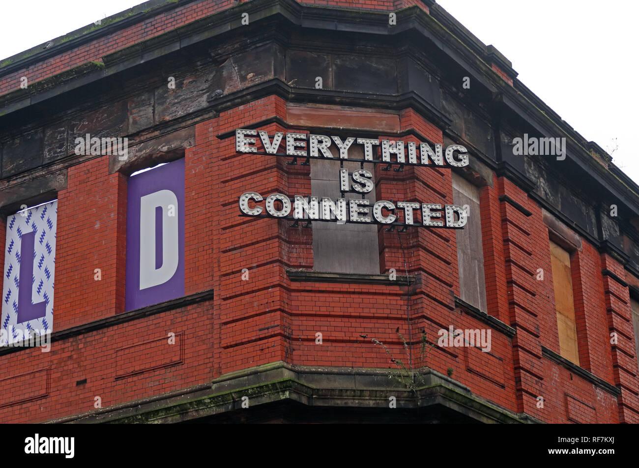 Laden Sie dieses Alamy Stockfoto Stillgelegte Manchester Mayfield Bahnhofsgebäude, Fairfield, Street, Piccadilly, Manchester, North West England, Großbritannien, M1 2QF - RF7KXJ