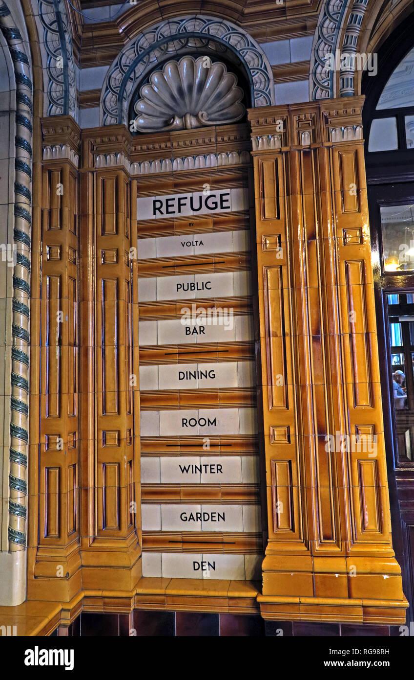 Laden Sie dieses Alamy Stockfoto Refuge Assurance Company Hauptverwaltung, Oxford Road, Manchester, North West England, VEREINIGTES KÖNIGREICH, - RG98RH