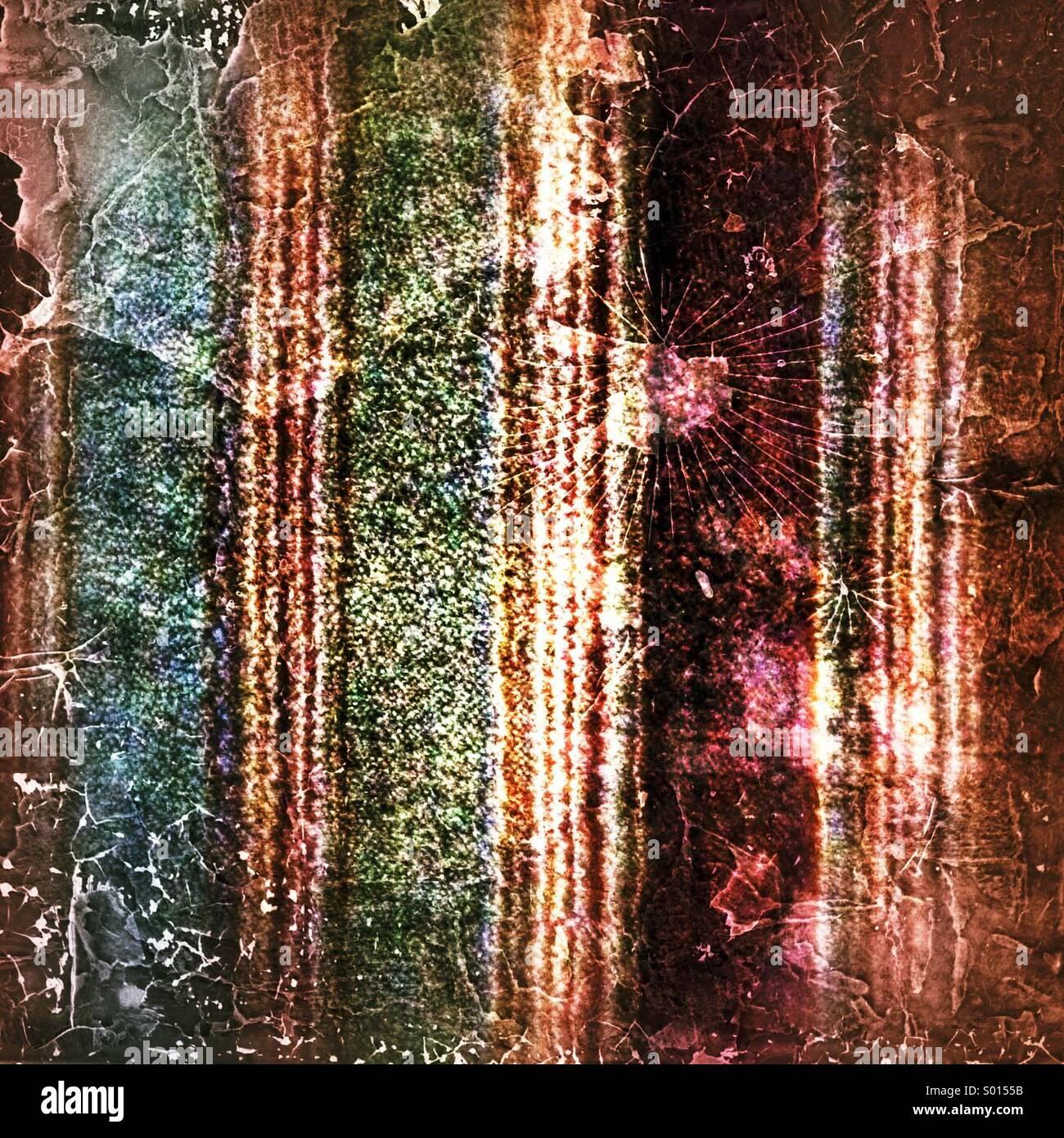 Wollenen Splatter-Muster Stockbild
