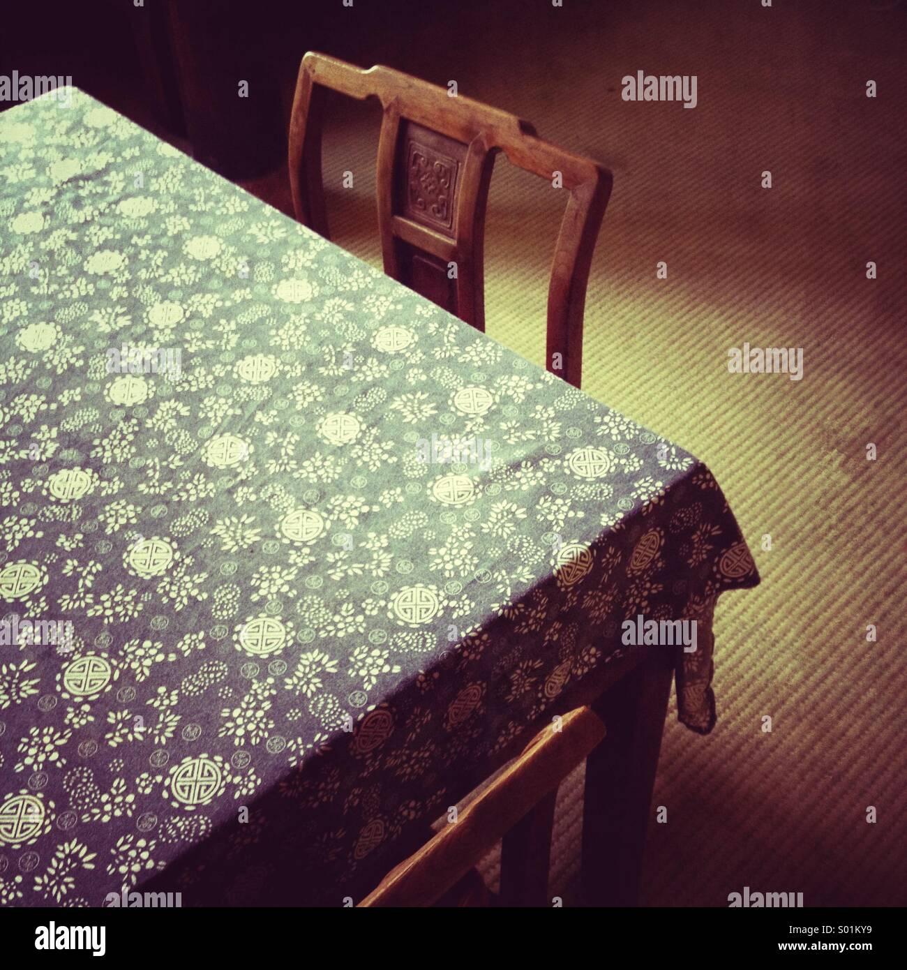 Chinesische Möbel Stockbild