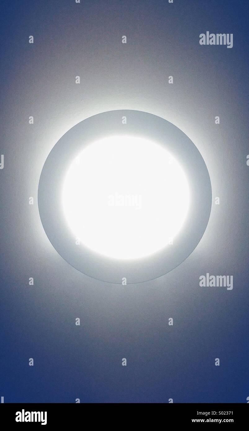 Lichtkreis Stockbild