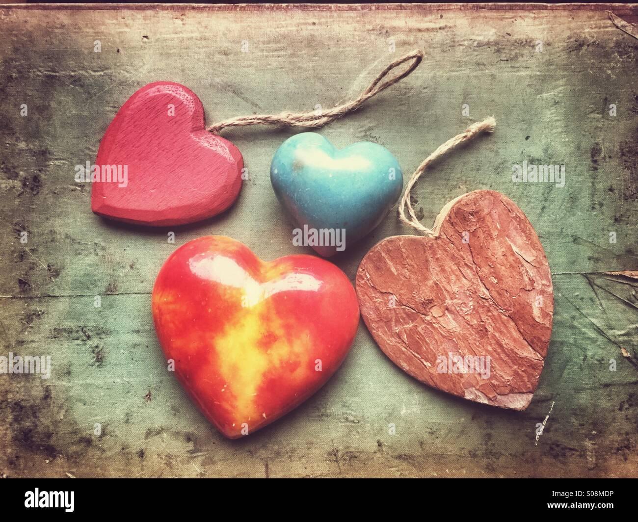 Liebe Herz Stockbild