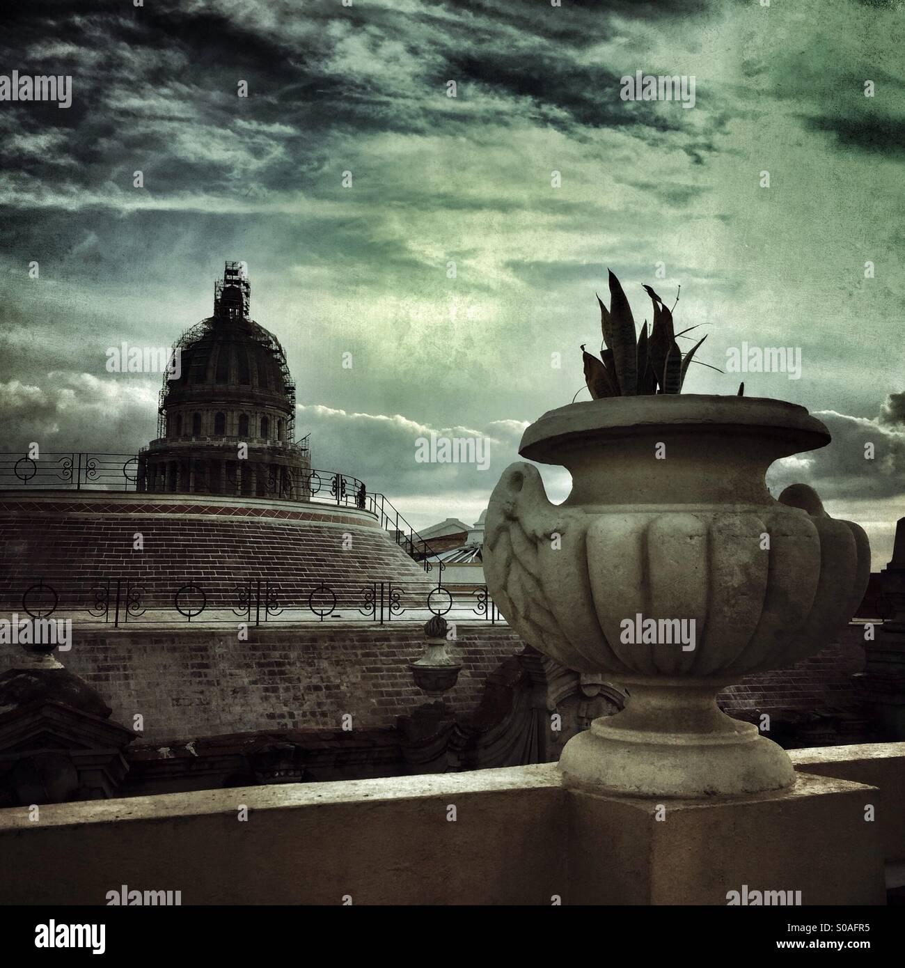Kapitol-Kuba Stockbild
