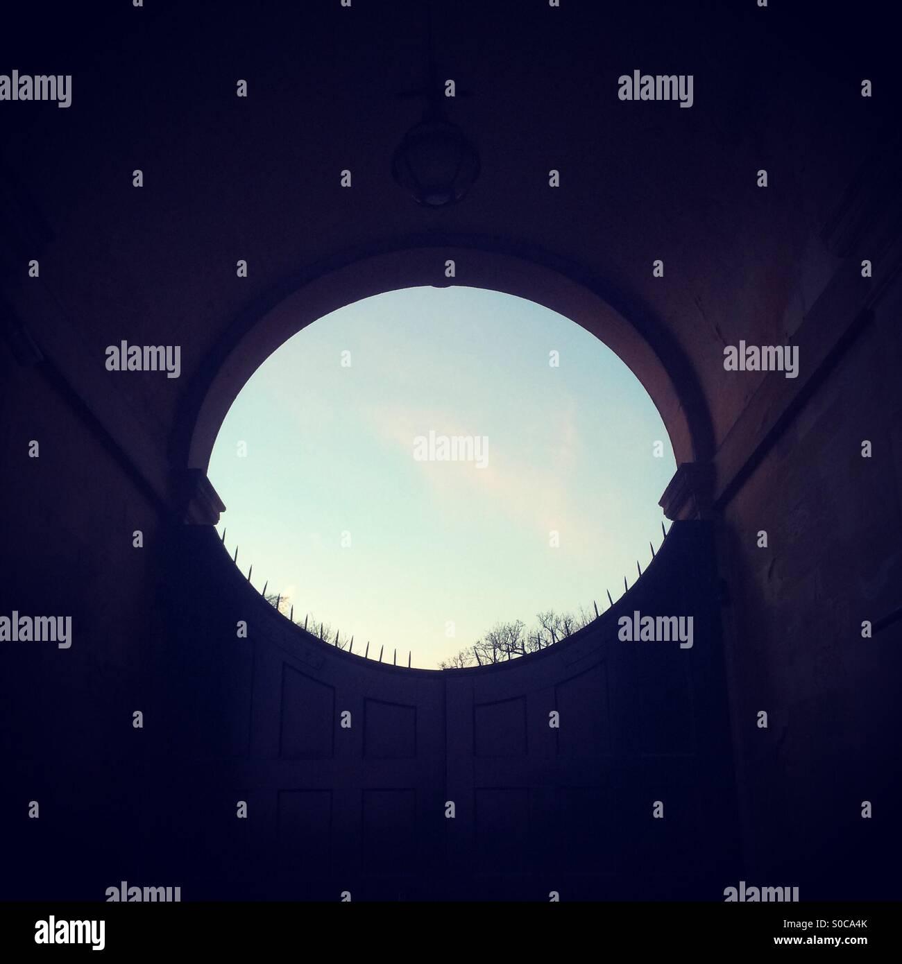 Gateway Stockbild