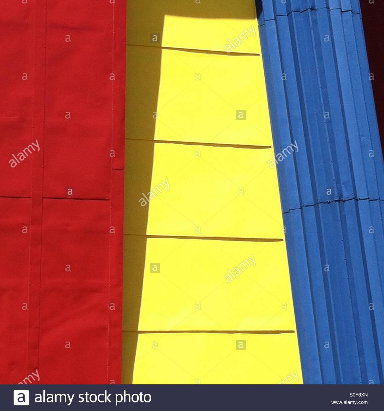 Primärfarben Stockbild